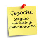 Gezocht stagiair marketing/communicatie