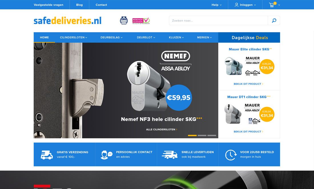 Preview safedeliveries.nl